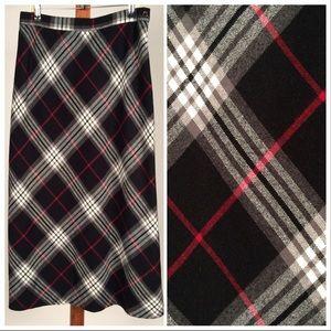 Sag Harbor Plaid Skirt